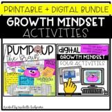 Growth Mindset Activities Printable and Digital Bundle, 1s