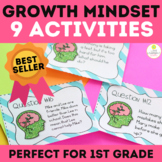 Growth Mindset Lessons Activities and Worksheets for 1st Grade