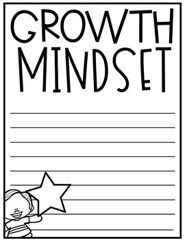 Growth Mindset Activities and Bulletin Board