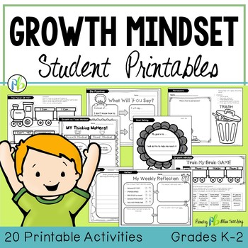 Growth Mindset - Activities and Lessons (Grades K-2)