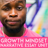 Growth Mindset Narrative Writing Unit | Growth Mindset Exa