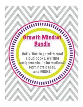 Growth Mindset Activity Bundle for Read Alouds