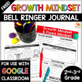 Growth Mindset Bell Ringers Activities | FREE Daily Warm-Ups for 2nd-3rd Grade