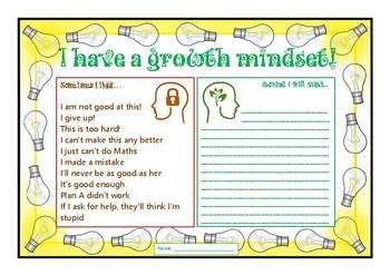 Growth Mindset Activity