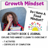Growth Mindset Activity Book 4: Do I Have A Fixed Mindset?