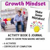 Growth Mindset Activity Book 5: Embracing Mistakes & Failures