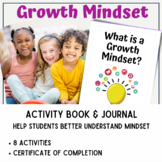 Growth Mindset Activity Book 1: What is Growth Mindset and