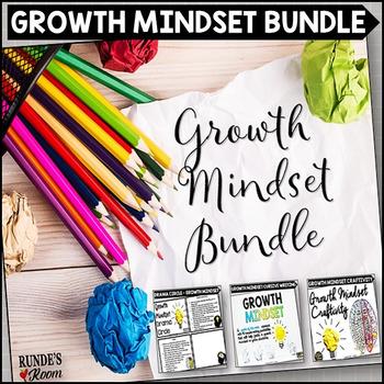 Growth Mindset Activity Bundle