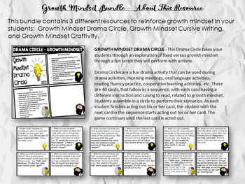 Growth Mindset Activity Bundle