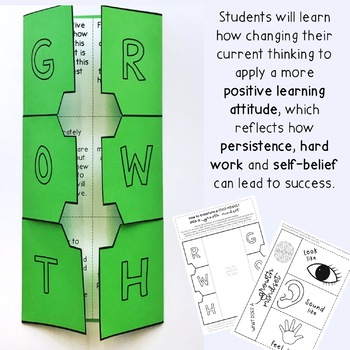 Growth Mindset Activity Pack  - Grade 3 - 6