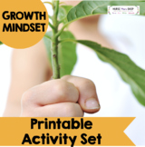 Growth Mindset Printable Activity Set