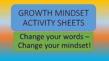 Growth Mindset Activity Sheets - Coloring - Bulletin Board