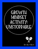 Growth Mindset Activity: Unstoppable