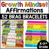 Growth Mindset Affirmations BRAG BRACELETS