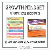 Growth Mindset Affirmations Bookmarks