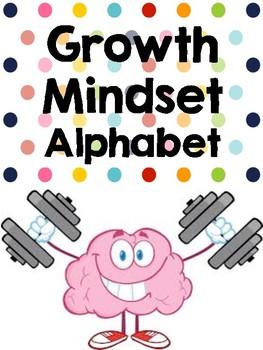 Growth Mindset Alphabet