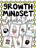 Growth Mindset Alphabet Line