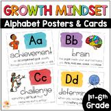 Growth Mindset Alphabet Posters - The ABCs of Growth Mindset