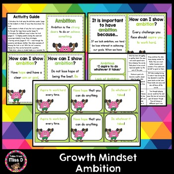 Growth Mindset Ambition