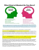 Growth Mindset Article for Mathematics