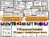 Growth Mindset- Peter H. Reynolds Author Study, The Dot, I