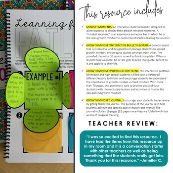 Growth Mindset BUNDLE for Teens: All Components