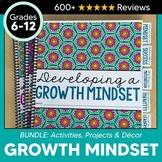 Growth Mindset BUNDLE for Teens: Social Emotional Learning + DIGITAL