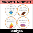 Growth Mindset Coupons / Badges