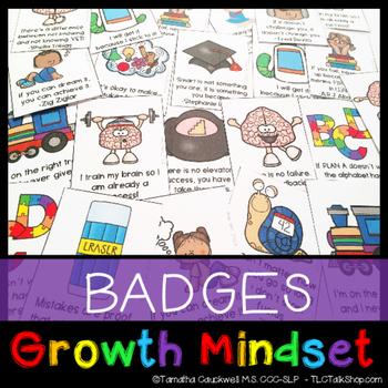 Growth Mindset Badges