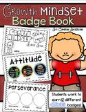 Growth Mindset Badges Coupon Book