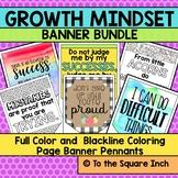 Growth Mindset Banner Bundle