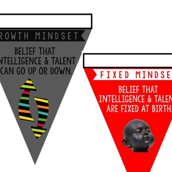 Growth Mindset Activities Banner