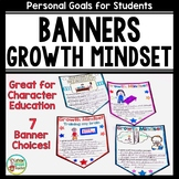 Growth Mindset Banners for Bulletin Boards and Classroom Decor