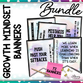 Growth Mindset Banners: BUNDLE (Watercolor)