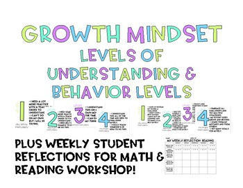 Growth Mindset Learning and Behavior Scale