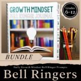 Growth Mindset Bell Ringer Journal BUNDLE: Journal, Digita
