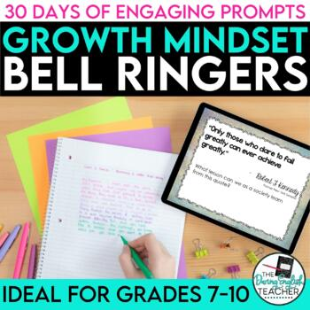 Growth Mindset Bell Ringers