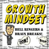Growth Mindset Bell Ringers and Brain Breaks Bell Ringers