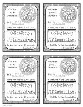 Growth Mindset Bible Promise Coloring - Set 1 FREEBIE
