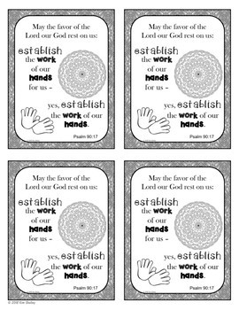 Growth Mindset Bible Promise Coloring - Set 6