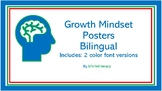 S.E.L. CASEL GROWTH MINDSET POSTERS- Bilingual Posters