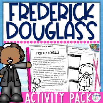 Growth Mindset Biography - Frederick Douglass {Black History Month}