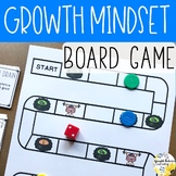 Growth Mindset Board Game School Counseling Game