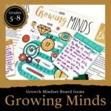 """Growth Mindset Board Game: """"Growing Minds"""" for Middle and High School"""