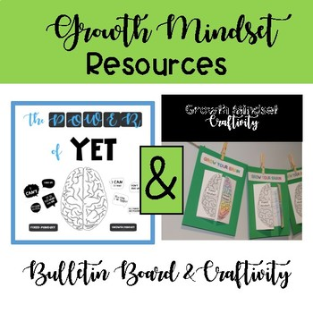 Growth Mindset Board and Creativity