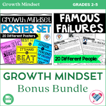 Growth Mindset Bonus Bundle