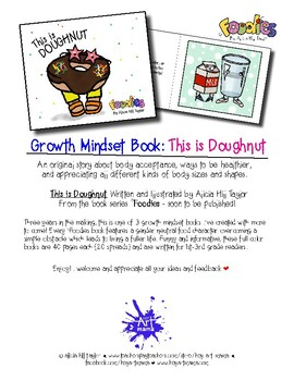 Original growth mindset book about health and body acceptance: This is Doughnut