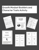 Growth Mindset Booklets and Character Traits Matching Activity