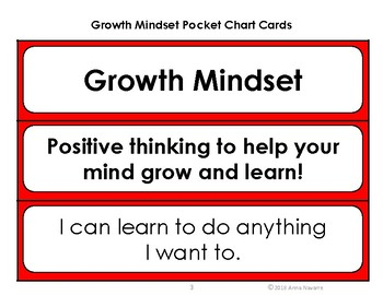 Growth Mindset Bookmarkers and Cards