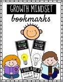 Growth Mindset Bookmarks!